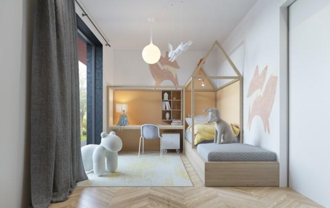 Cách phối mầu, trang trí phòng ngủ dễ thương cho trẻ - Ảnh 7