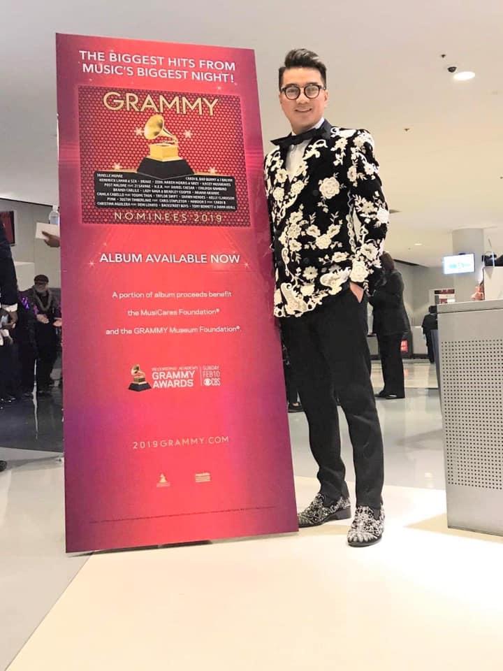 Đàm Vĩnh Hưng hào hứng lần đầu tiên dự lễ trao giải Grammy 2019 - Ảnh 2