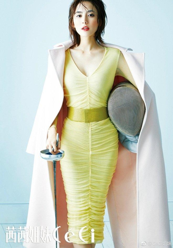 Đâu chỉ mình Địch Lệ Nhiệt Ba, Cổ Lực Na Trát cũng là mỹ nữ có thể cân mọi thể loại trang phục - Ảnh 6
