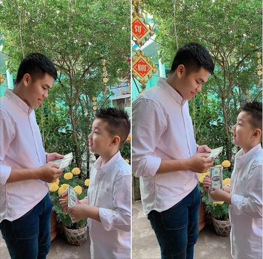 Sau chuyến về quê cha dượng ăn Tết, con trai riêng của Lê Phương phát ngôn cực sốc - Ảnh 2