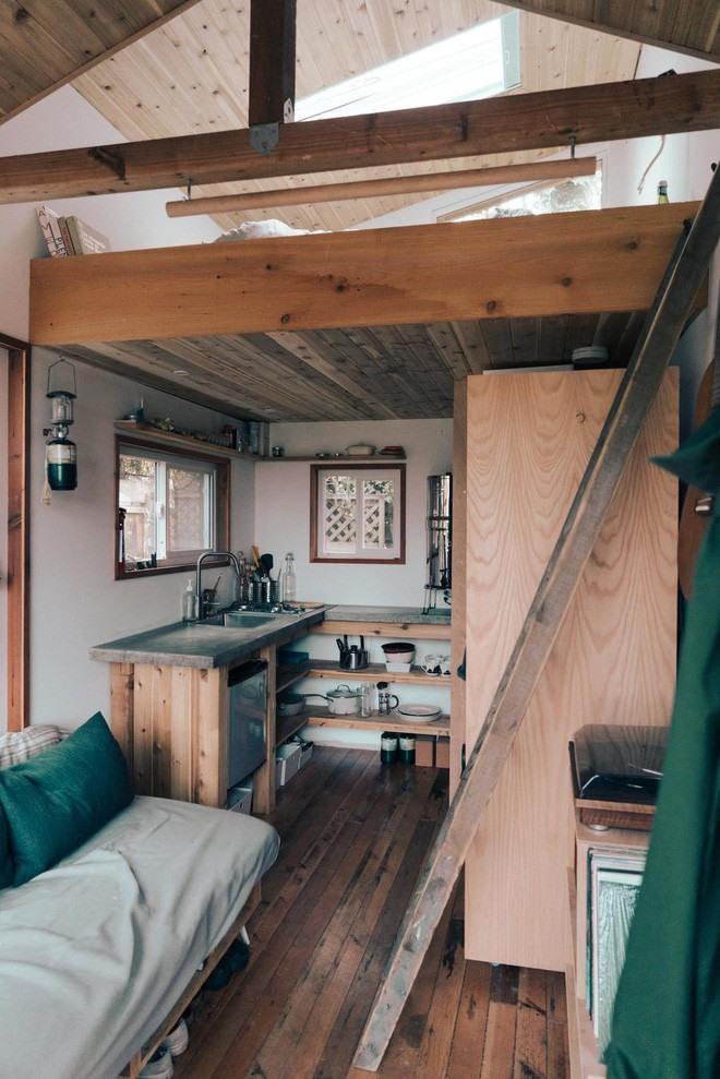 Bên trong căn nhà 10m2 đầy đủ tiện nghi như khu nghỉ dưỡng cao cấp - Ảnh 3