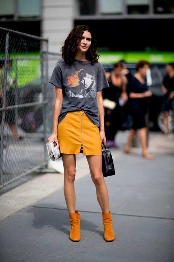 Biến hóa với trang phục cơ bản: Đơn giản vẫn đẹp cùng áo thun - Ảnh 9