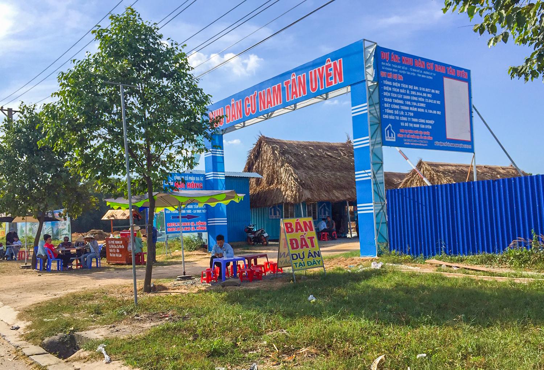 Chủ đầu tư dự án Khu dân cư Nam Tân Uyên tiếp tục 'bán lúa non' - Ảnh 1