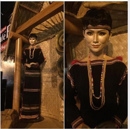 'Giật bắn người' khi thấy tượng sáp của Hoa hậu H'Hen Niê - Ảnh 1