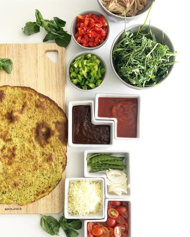 Lilly Nguyễn chia sẻ công thức làm pizza ăn kiêng từ khoai lang - Ảnh 4