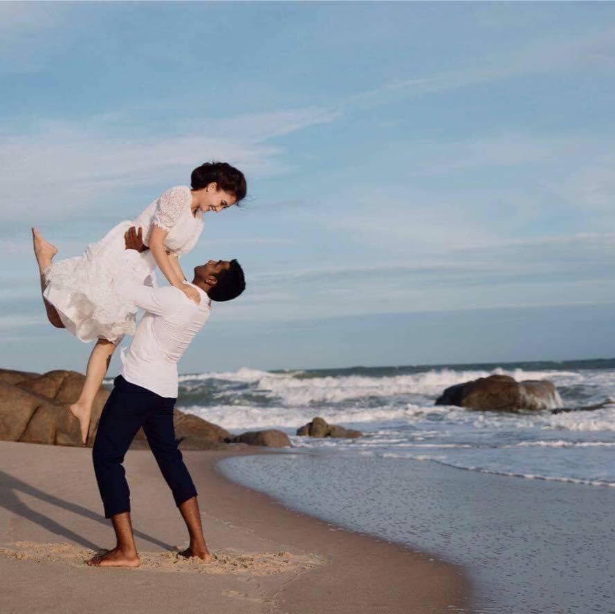 6 tháng sau khi sinh con với chồng Ấn Độ, Nguyệt Ánh khoe em bé lớn phổng phao, đáng yêu - Ảnh 1