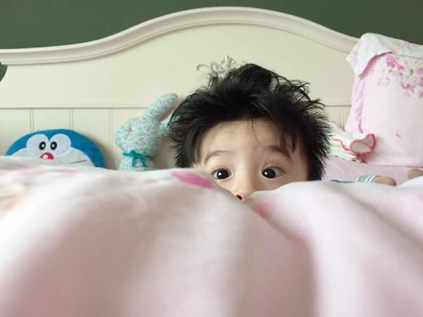 6 tháng sau khi sinh con với chồng Ấn Độ, Nguyệt Ánh khoe em bé lớn phổng phao, đáng yêu - Ảnh 2