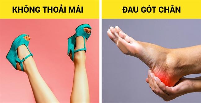 Những kiểu giày đẹp nhưng gây hại cho sức khỏe - Ảnh 2