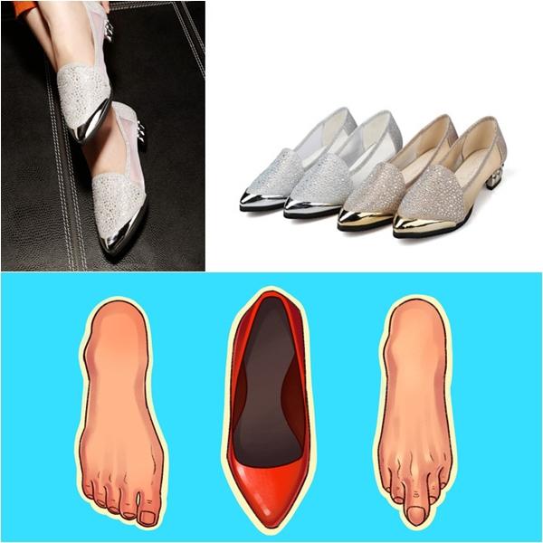 Những kiểu giày đẹp nhưng gây hại cho sức khỏe - Ảnh 3