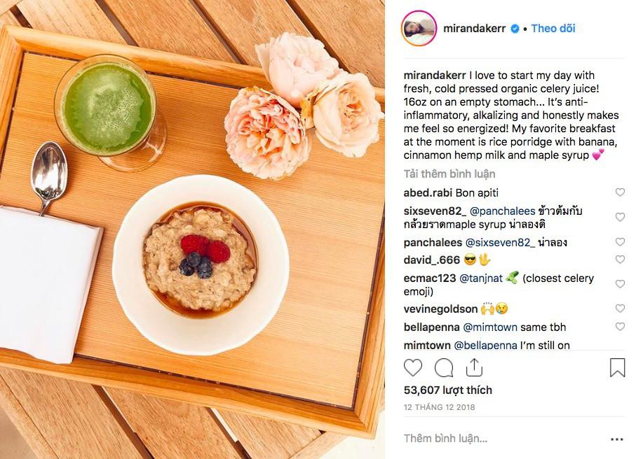 Trào lưu đang nở rộ trên Instagram: Nước ép cần tây được rất nhiều ngôi sao tin tưởng cho công cuộc giữ dáng, làm đẹp da - Ảnh 2