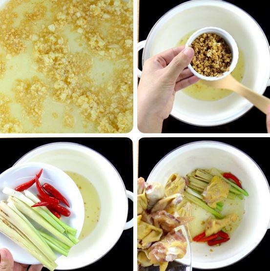 3 cách làm gà nấu lá giang ngon, ai ăn cũng phải xuýt xoa - Ảnh 4
