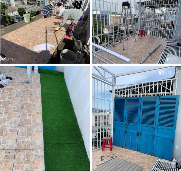 'Ghen tị' với góc chill rộng thoáng 40m² trên sân thượng tràn ngập hồng ngoại của mẹ đảm tại Nha Trang - Ảnh 2