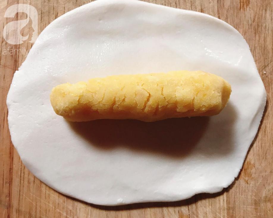 Làm bánh dày đỗ - món bánh dẻo thơm dân dã dù bao sơn hào hải vị cũng chẳng sánh bằng - Ảnh 4