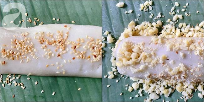 Làm bánh dày đỗ - món bánh dẻo thơm dân dã dù bao sơn hào hải vị cũng chẳng sánh bằng - Ảnh 6