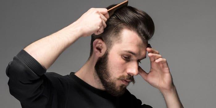 Hướng dẫn cách chăm sóc tóc với kiểu tóc vuốt ngược ra sau