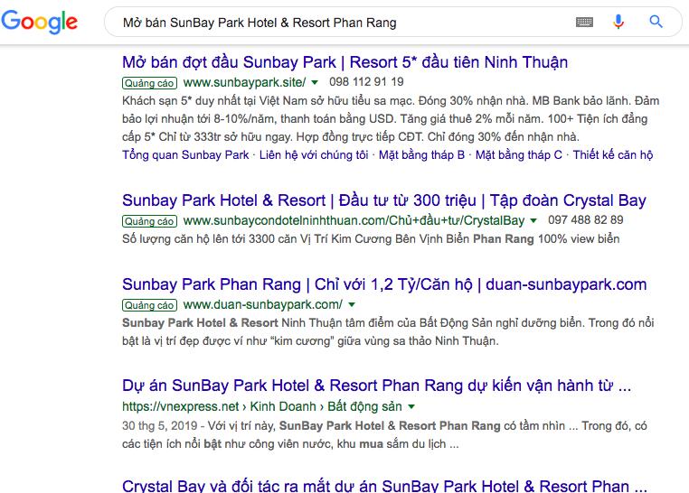 """""""Loạn"""" thông tin rao bán dự án SunBay Park Hotel & Resort Phan Rang trái luật - Ảnh 3"""