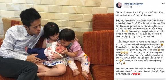 MC Minh Trang VTV mang thai lần 4, chính thức nhập hội 'những sao Việt đông con nhất Vbiz' - Ảnh 1