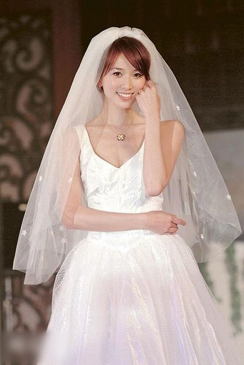 Lâm Chí Linh diện váy cưới xinh đẹp tựa nữ thần, fan mong chờ đến hôn lễ cổ tích của cô và bạn trai người Nhật - Ảnh 7