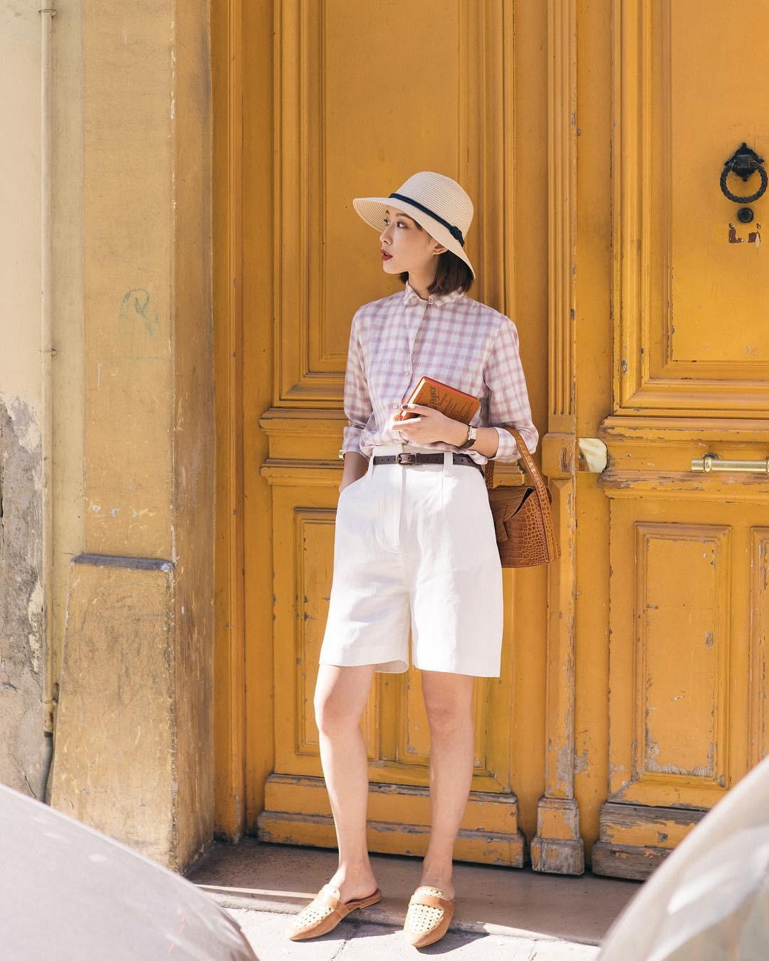 Nóng quá thì nàng công sở cứ mạnh dạn diện quần shorts nhưng để bảo toàn sự tinh tế, hãy tham khảo vài tips sau - Ảnh 3