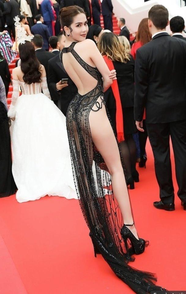 Sau vụ mặc hở tại Cannes, Ngọc Trinh bức xúc vì bị lợi dụng hình ảnh: 'Hãy tôn trọng quyền nghệ sĩ của tôi' - Ảnh 3
