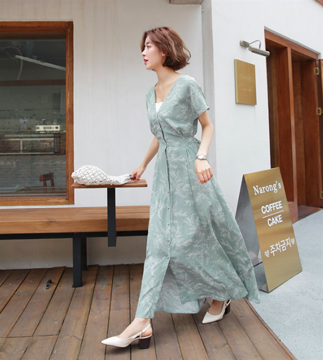 6 mẫu váy công sở 'cạ cứng' cho nàng béo bụng - Ảnh 2