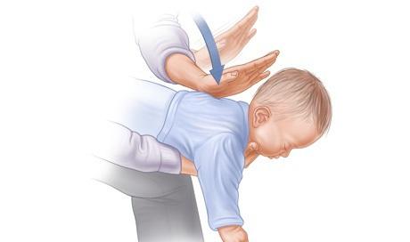 Ăn một quả nho bé trai 18 tháng ngừng thở, nhờ sự nhanh nhẹn của cảnh sát bé thoát bàn tay tử thần - Ảnh 2