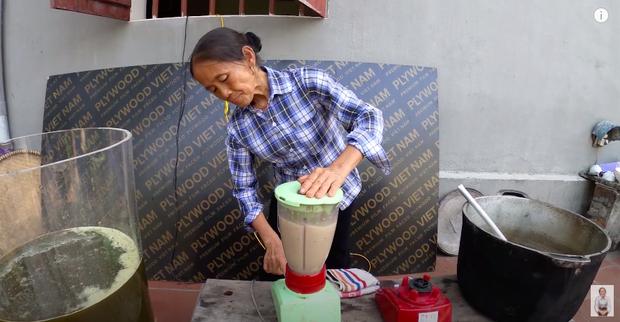 Bà Tân trổ tài làm cốc rau má đậu xanh siêu to khổng lồ, nhưng dân mạng chỉ chăm chăm chú ý tới câu 'lỡ lời' của Hưng Vlog - Ảnh 6