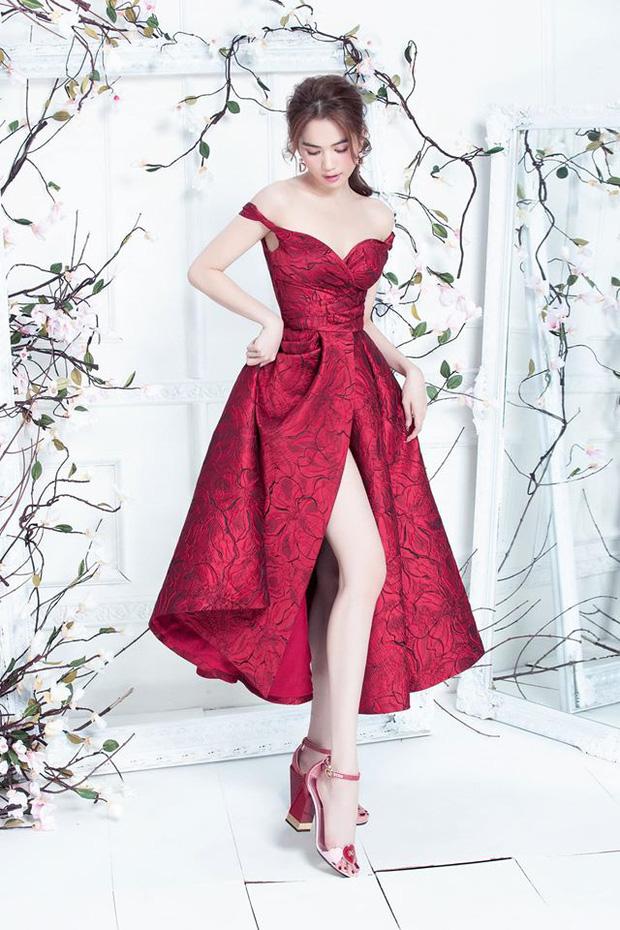 Đến Ngọc Trinh mà không áp dụng thủ thuật tạo dáng thì điểm sexy cũng vơi đi phân nửa khi diện váy xẻ - Ảnh 4