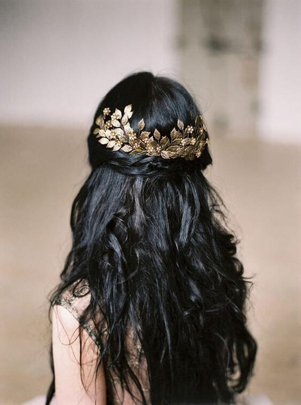 10 mẫu tóc đen dài 'gây thương nhớ' - Ảnh 9