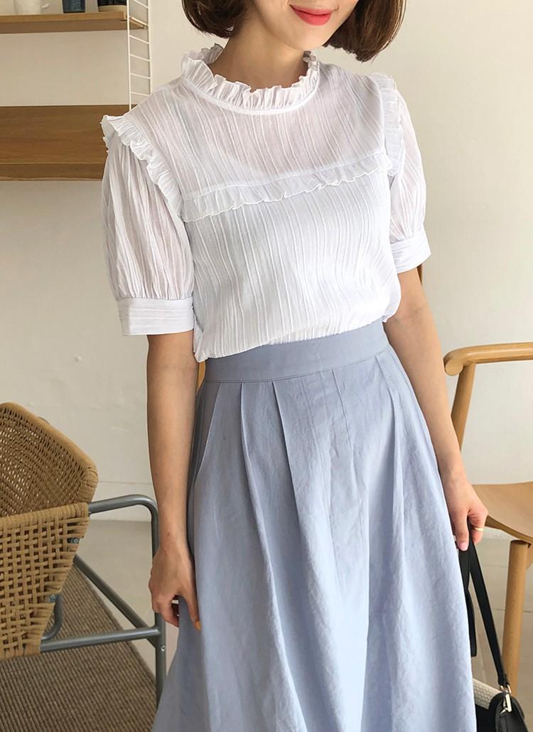 Chiếc áo cộng thêm vài phần sang chảnh cho các chị em công sở hóa ra cực dễ mix đồ - Ảnh 8