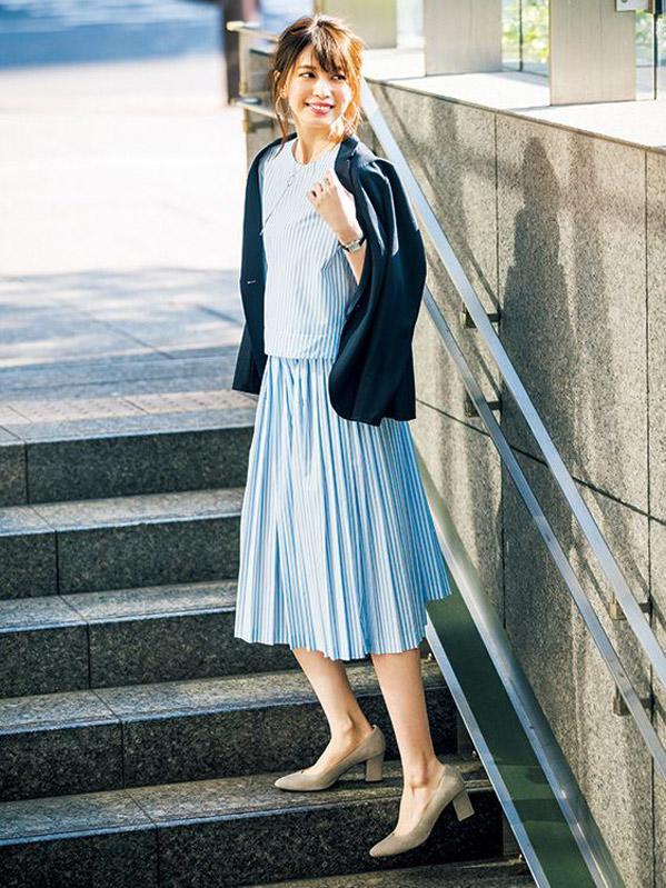 5 cách tận dụng váy midi khiến chị em đi làm, đi chơi đều nổi nhất hội - Ảnh 15