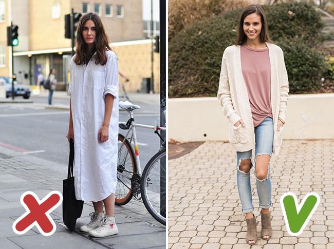 7 kiểu trang phục mùa thu mà nhiều chị em tưởng là sành điệu nhưng thật ra lại là sai lầm trầm trọng - Ảnh 7