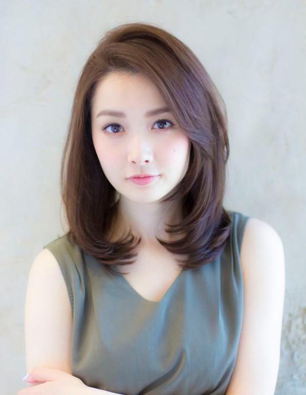 Chỉ cần để những kiểu tóc này thì mặt béo, mặt vuông, mặt dài cũng lên đời nhan sắc - Ảnh 9