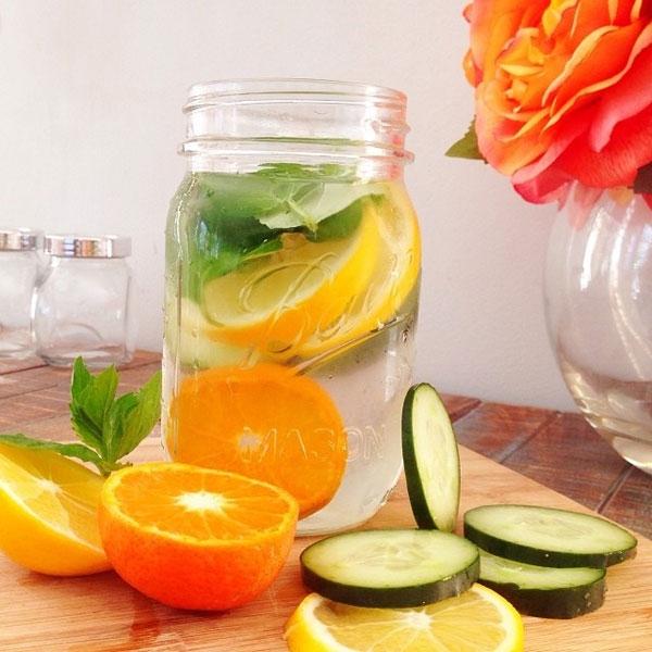 Mách bạn cách làm nước detox đẹp da, giải nhiệt mùa hè - Ảnh 1