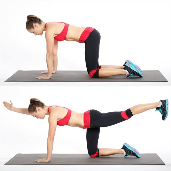 8 động tác giúp giảm đau lưng, tiêu diệt mỡ thừa vùng lườn - Ảnh 6