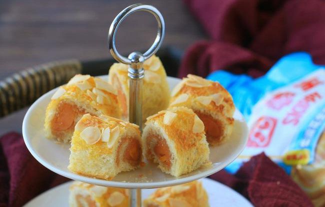 Chỉ cần 15 phút có ngay bữa sáng ngon với món bánh mỳ cuộn xúc xích - Ảnh 5