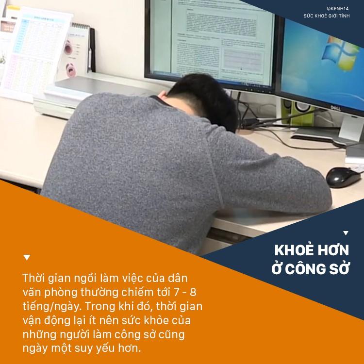 Đài truyền hình Hàn Quốc cảnh báo những thói quen xấu thường gặp ở dân văn phòng và cách khắc phục nhanh chóng - Ảnh 1