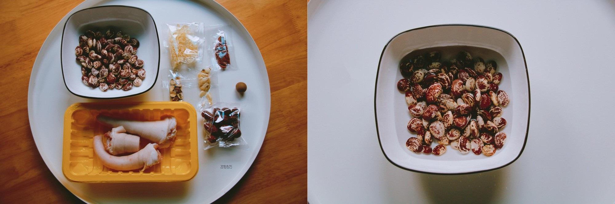 Bồi bổ cơ thể cho cả nhà với món đuôi heo hầm đậu đỏ ngon mê tơi - Ảnh 1