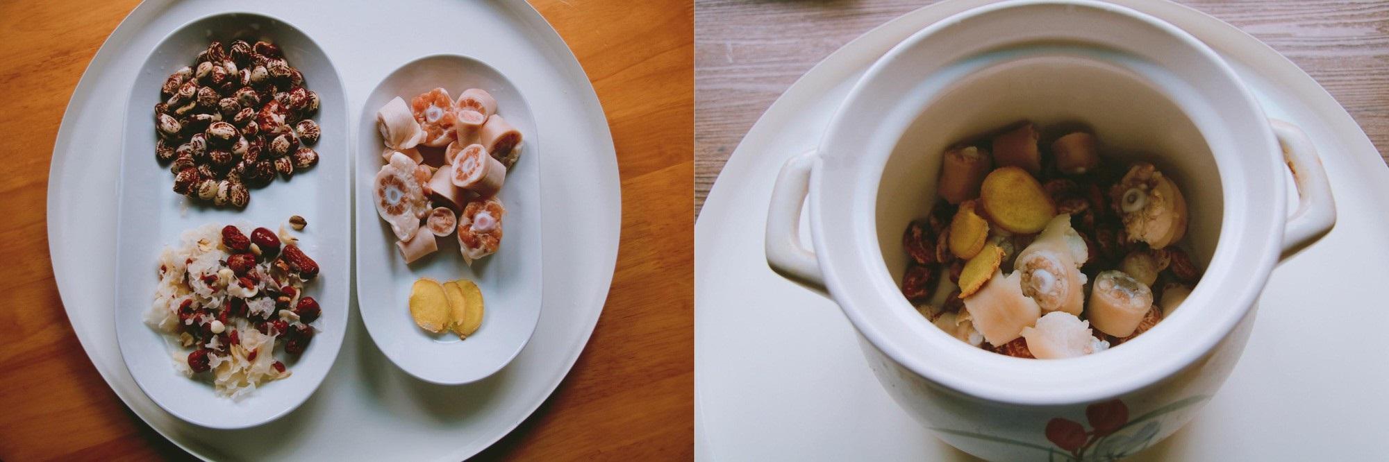 Bồi bổ cơ thể cho cả nhà với món đuôi heo hầm đậu đỏ ngon mê tơi - Ảnh 3