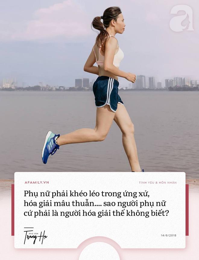 Trang Hạ: 'Khi phát hiện chồng ngoại tình, phụ nữ hãy kiểm tra tài sản, huýt sáo và ra khỏi cuộc hôn nhân tồi tệ' - Ảnh 3