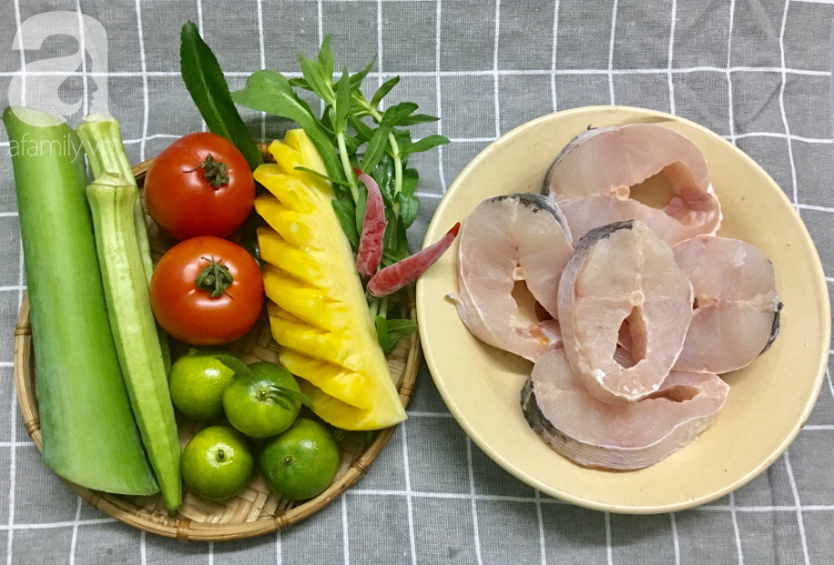 Cách nấu canh chua cá chuẩn vị miền Nam thơm ngon hết cỡ - Ảnh 1