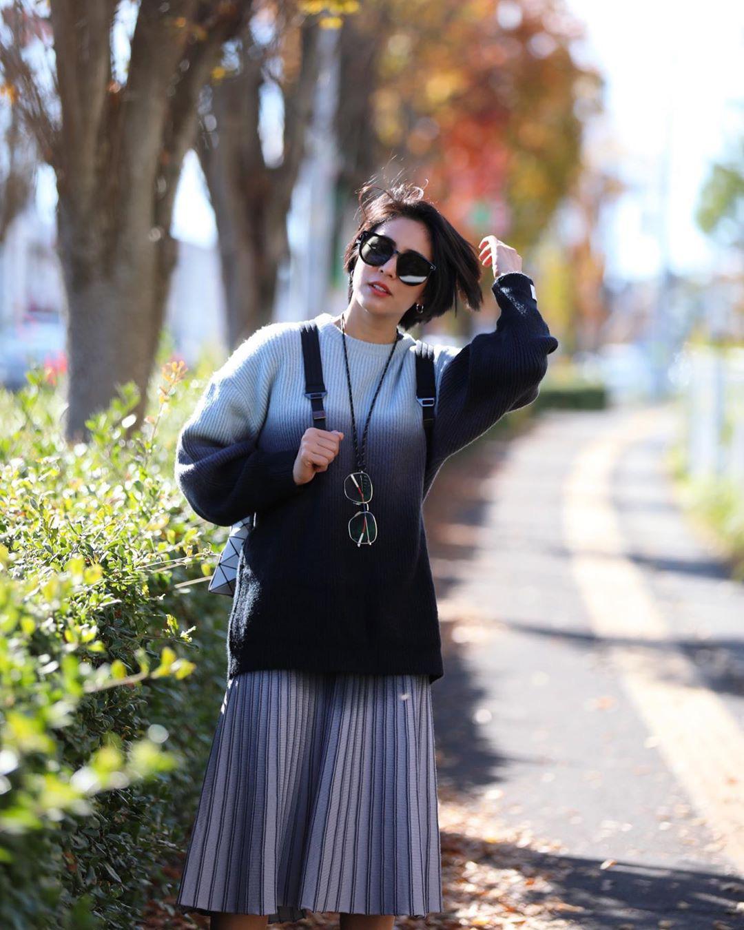 Chiêm ngưỡng những set đồ Đông chất lừ của bà xã 'dượng Chat', chị em sẽ mong trời lạnh thật nhanh để mặc mốt như cô ấy - Ảnh 3