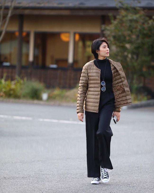 Chiêm ngưỡng những set đồ Đông chất lừ của bà xã 'dượng Chat', chị em sẽ mong trời lạnh thật nhanh để mặc mốt như cô ấy - Ảnh 4