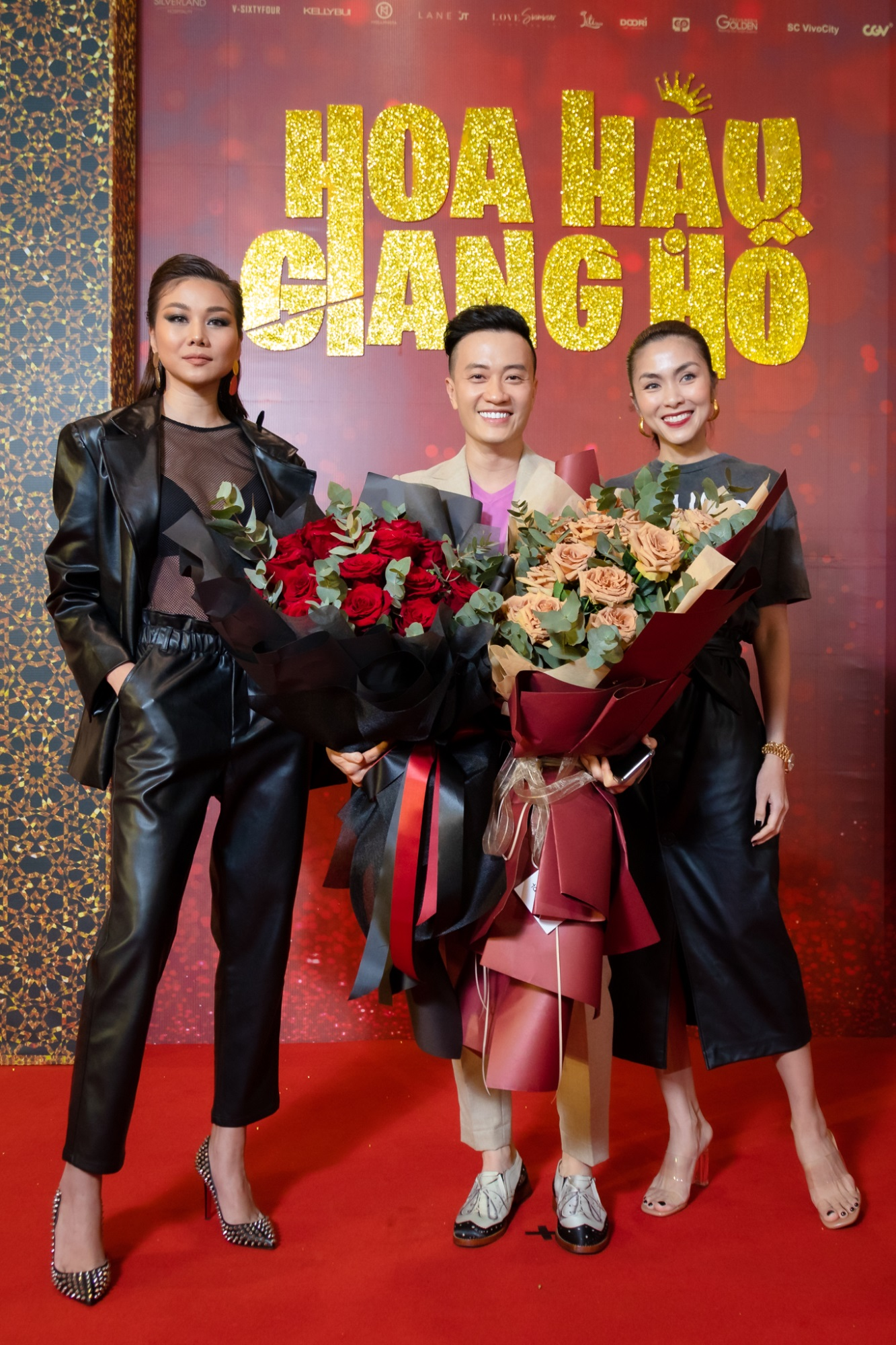 Tăng Thanh Hà và Thanh Hằng rạng rỡ đến chúc mừng Lương Mạnh Hải ra mắt phim đầu tay - Ảnh 2