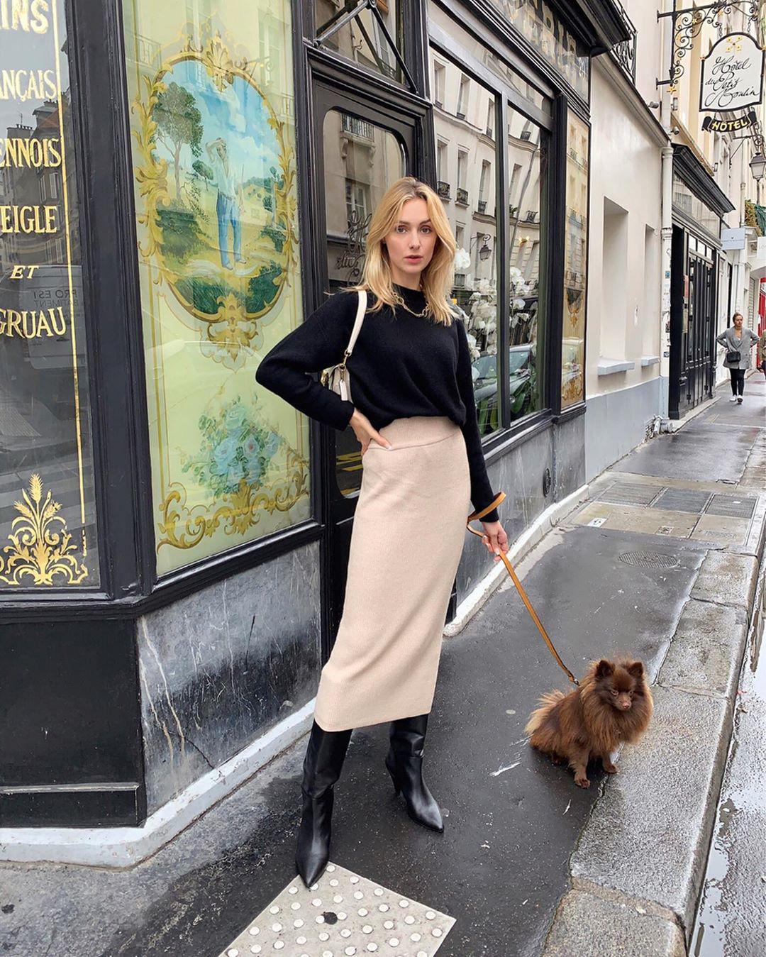 Không thể kìm lòng trước 5 cách diện áo len đẹp xỉu của phụ nữ Pháp, bạn sẽ muốn áp dụng bằng hết mới được - Ảnh 13