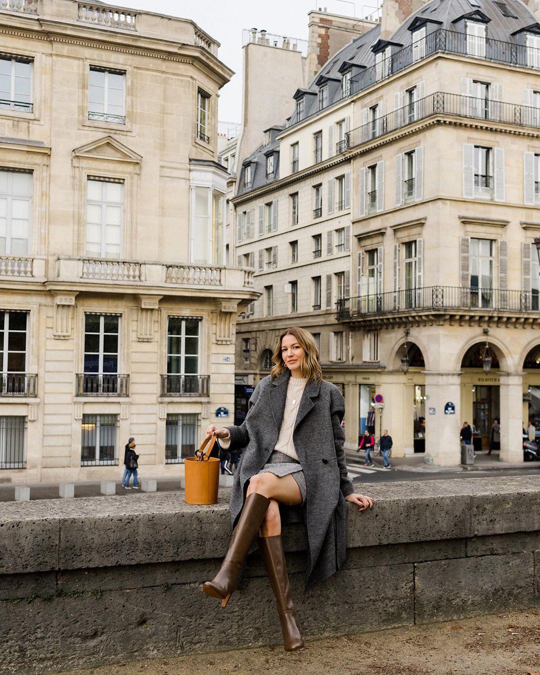 Không thể kìm lòng trước 5 cách diện áo len đẹp xỉu của phụ nữ Pháp, bạn sẽ muốn áp dụng bằng hết mới được - Ảnh 16