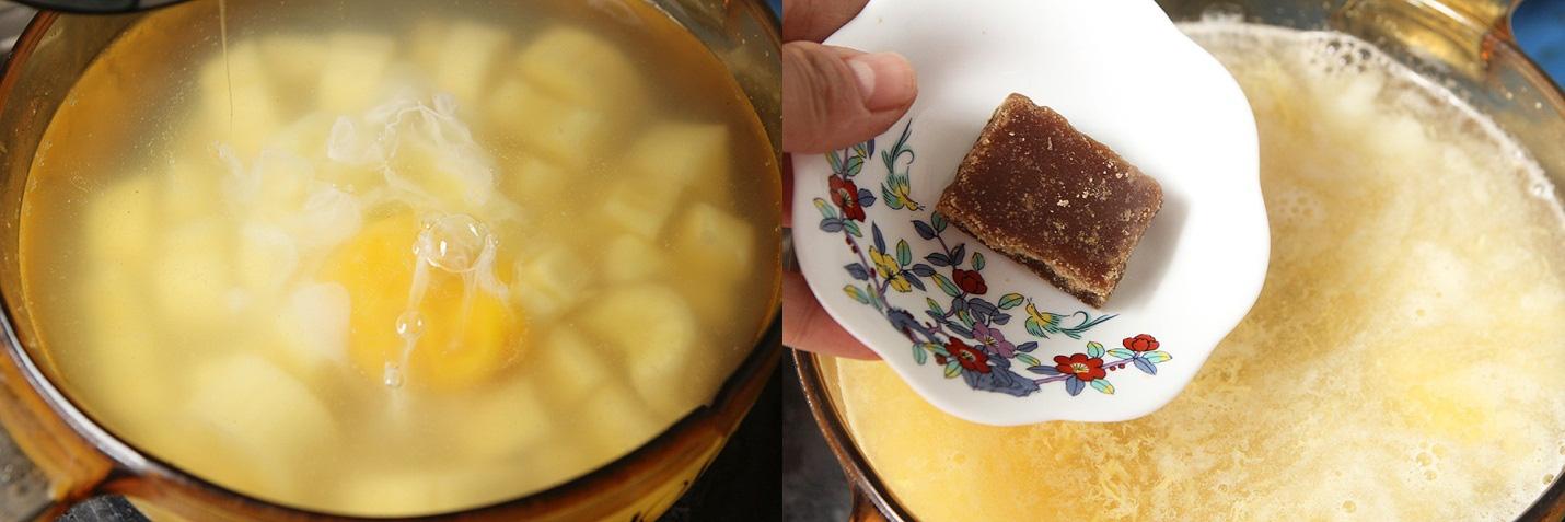 Khi nấu chè sắn, mẹ mình thường thêm 1 nguyên liệu này, cả nhà ai ăn cũng khen và mùa đông nào cũng háo hức mong chờ - Ảnh 3