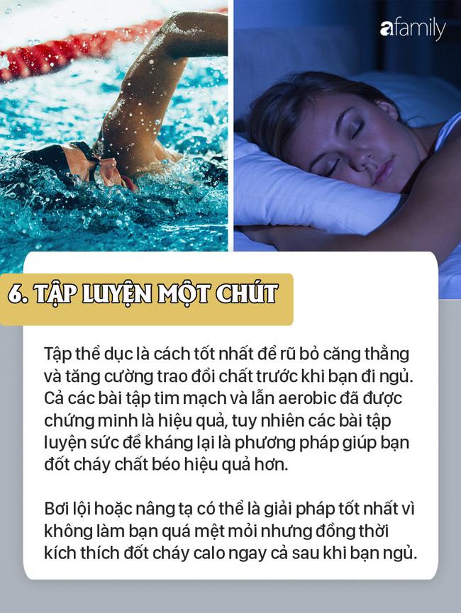 7 thói quen nếu làm khi đi ngủ chắc chắn sẽ giúp bạn giảm cân hiệu quả không kém gì các bài tập thể dục - Ảnh 6