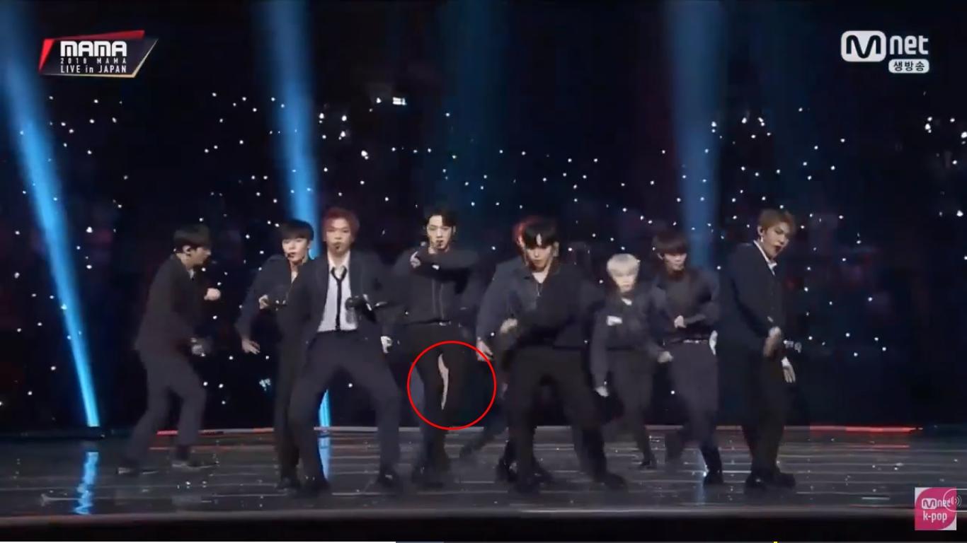 Gặp sự cố nghiêm trọng tại MAMA 2018, Lai Kuan Lin (Wanna One) xử lý đầy chuyên nghiệp khiến fan châu Á 'ngả mũ thán phục' - Ảnh 6