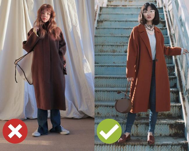 """Chưa cần biết bạn có cao thon hay không, cứ áp dụng 3 tips sau là diện áo khoác dài chẳng lo bị """"dìm"""" dáng - Ảnh 3"""